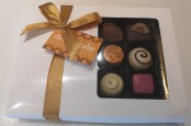 Box of 12 Assorted Belgian Chocolates